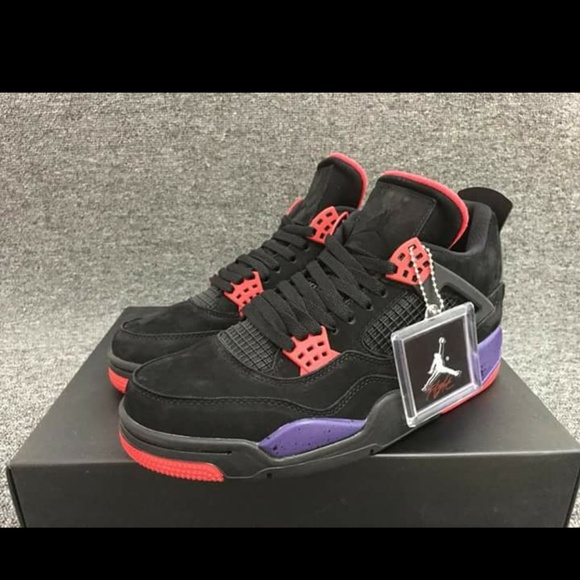 size 40 16b93 80aac Nike air Jordan retro 4s raptor mens size 10.5 NWT